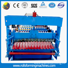 round wave metal roofing machine